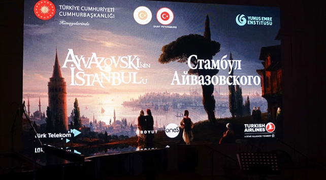 Türkiye ve Rusya Ayvazovskinin tablolarında buluştu