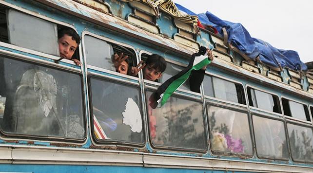 Doğu Gutadan ayrılanların sayısı 58 bine yaklaştı