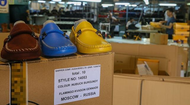 Rusyaya ayakkabı ihracatında rekor artış