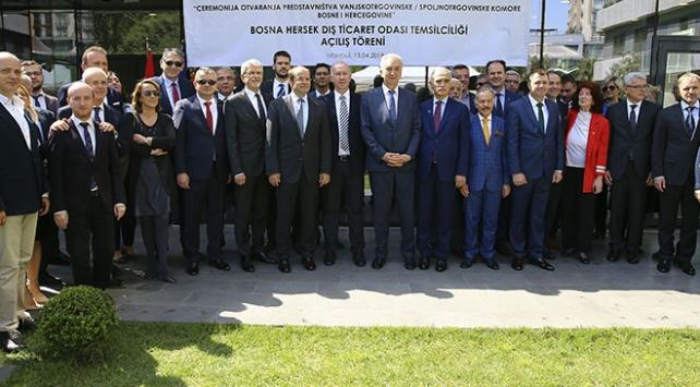 Bosna Hersek Dış Ticaret Odası İstanbul Temsilciliği açıldı