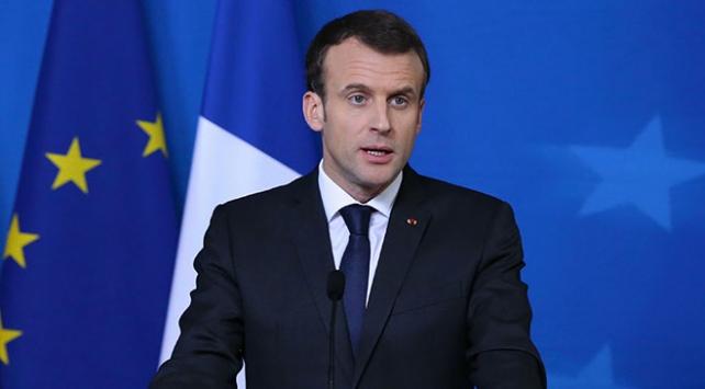 Fransa Cumhurbaşkanı Macron: Saldırı kimyasal tesislere yapıldı