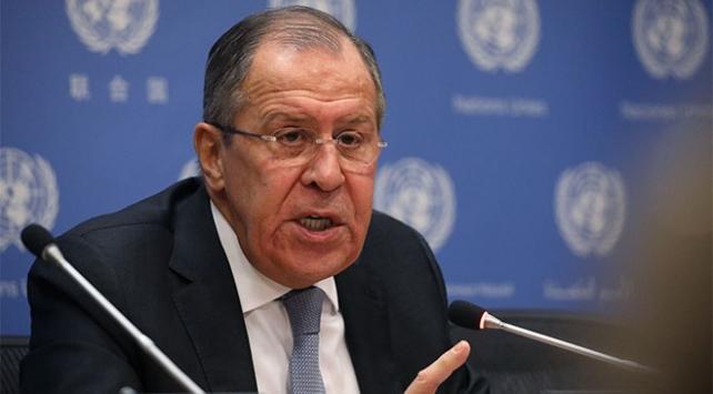 Rusya Dışişleri Bakanı Lavrov: Operasyon yasa dışı