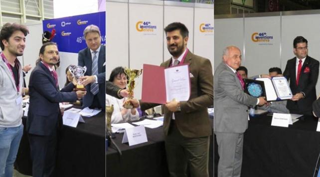 Türk mucitler İsviçreden 3 altın madalyayla döndü