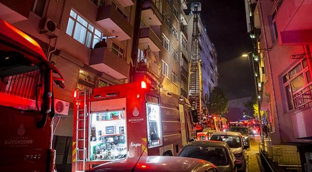 İstanbul Bahçelievlerde yangın