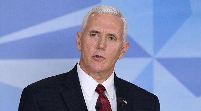 ABD Başkan Yardımcısı Pence: Daha fazla kimyasal saldırı tolere edilmeyecek