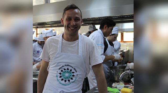 Litvanyalı aşçı Ramunas Golcas, Antep yemeklerini öğrendi