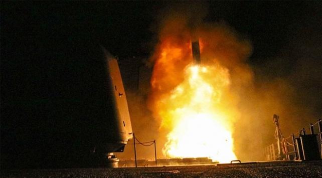 Suriye operasyonunda vurulan tesislerin uydu görüntüleri ortaya çıktı