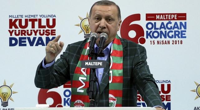 Cumhurbaşkanı Erdoğan: Üreten ekonomi yok diyenler, elinize dilinize dursun?