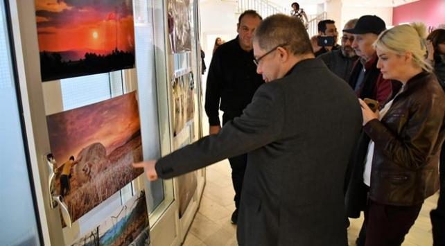 Stockholmde Türkiye ve Camiler resim sergisi açıldı