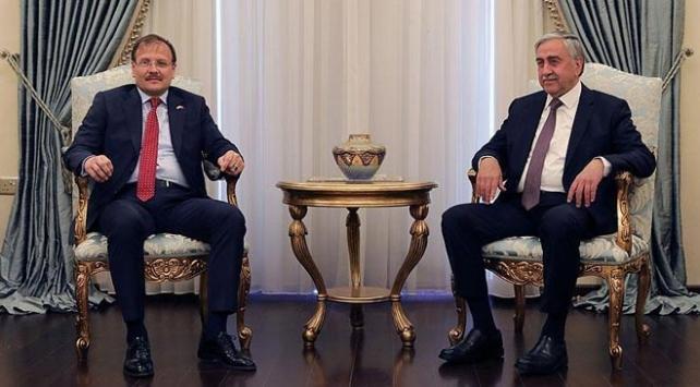 Başbakan Yardımcısı Çavuşoğlu, KKTC Cumhurbaşkanı Akıncı ile görüştü