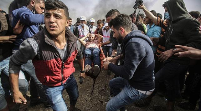 İsrail askerleri Gazze Şeridinde 3 Filistinliyi yaraladı