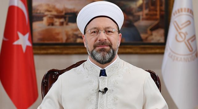 Diyanet İşleri Başkanı Erbaş: İslamofobinin yaygınlaştırılmasına fırsat vermeyeceğiz