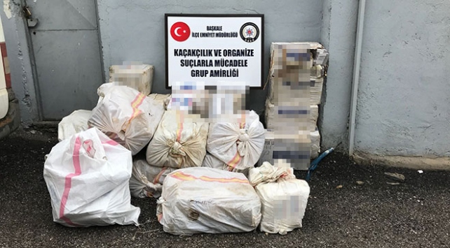 Şüpheli araçtan 16 bin paket kaçak sigara çıktı