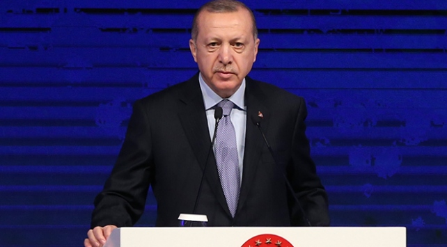 """Cuhmurbaşkanı Erdoğan: """"Dünyada yeni bir barışın temelini atalım"""""""