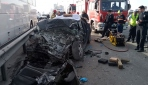 Kartalda 4 kişinin hayatını kaybettiği feci kaza kamerada
