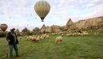 Afganistanlı Ali Tahghan, Kapadokyada çobanlık yapıyor
