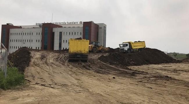 Tekirdağ Şehir Hastanesinin inşaatı başladı