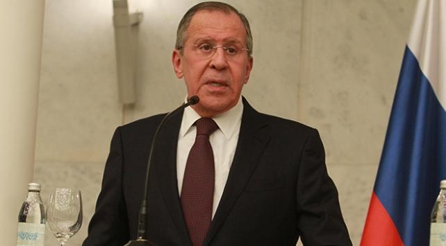 """Lavrov, Dumadaki kimyasal saldırının """"tezgahlandığını"""" savundu"""