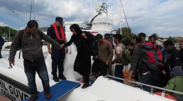 Bir haftada 1376 kaçak göçmen yakalandı