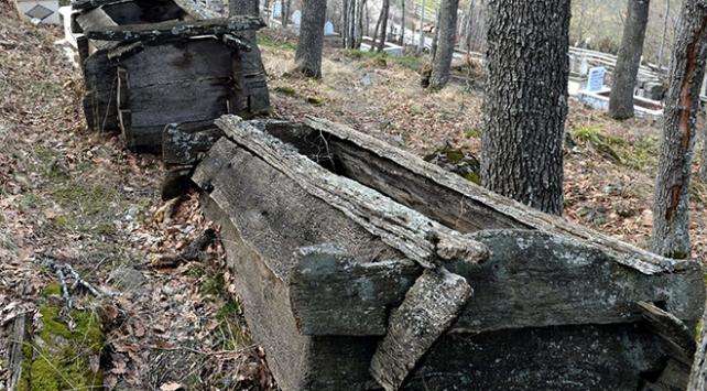 Ahşap mezarların sırrı çözülemiyor