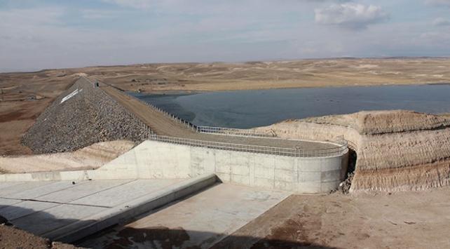 Sivasta inşa edilen Kocakurt Barajı tamamlandı