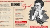 Devletin bireye bakışını değiştiren lider Turgut Özal