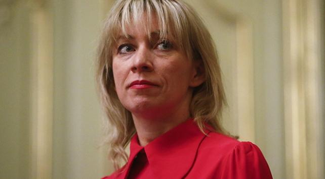 Rusya Dışişleri Bakanlığı Sözcüsü Zaharova: ABD, B planını uyguluyor