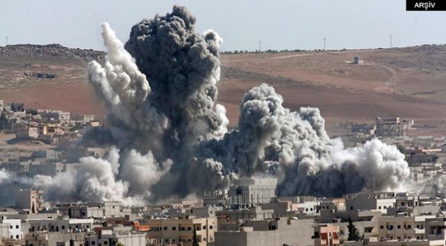 Yemende Husilere ait silah deposu vuruldu