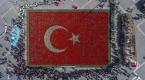 Türk Bayrağı temalı lale peyzajıyla dünya rekoru