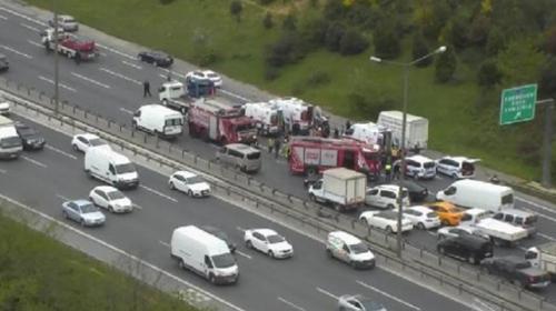FSM Köprüsünde zincirleme trafik kazası