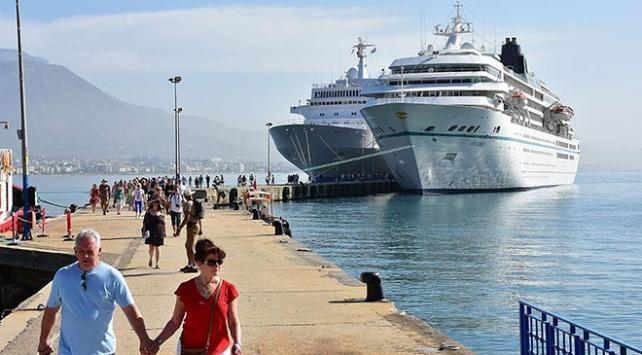 Kruvaziyerle turist getiren acentelere milyonlarca dolarlık destek