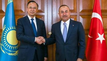 Dışişleri Bakanı Çavuşoğlu Kazakistanda