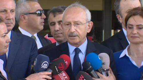 Kemal Kılıçdaroğlu: Adayımızı Parti Meclisi'nde belirleyeceğiz
