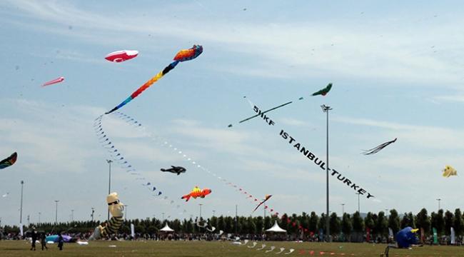 6. İstanbul Uluslararası Uçurtma Festivali 21 Nisanda başlıyor