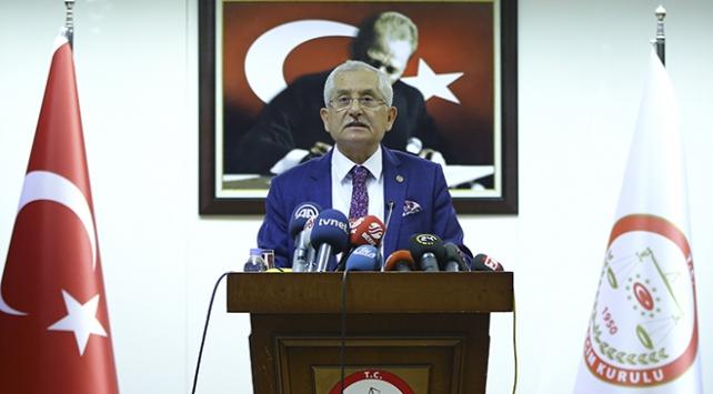 YSK Başkanı Güvenden İYİ Parti açıklaması