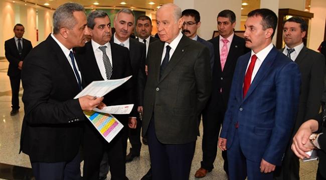 MHPde aday adaylığı başvuru kayıt bürosu hazırlandı