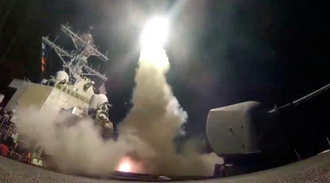 Pentagondan Suriye açıklaması: Vurulan hedeflerde sarin ve klor gazı vardı
