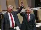 Raul Castro'dan halefi DiazCanel'e tam destek