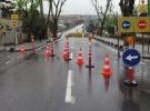 Kadıköy Tıbbiye Caddesi  1 yıl süreyle trafiğe kapandı