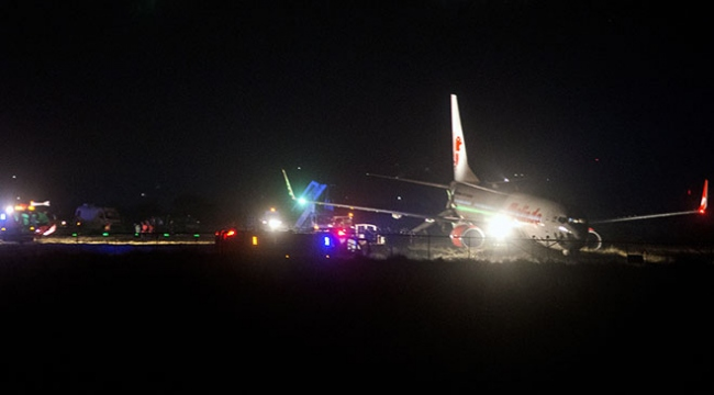 Nepalde uçak pistten çıktı