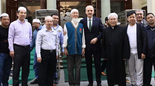 Bakan Kurtulmuştan Çindeki Müslümanlara Türkiyede eğitim önerisi
