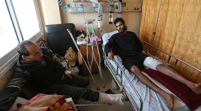 """İsrail barışçıl gösterilere """"tehlikeli silahlar"""" doğrultuyor"""