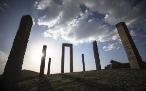 """Kapadokyanın """"uzaydan görülen"""" heykelleri"""