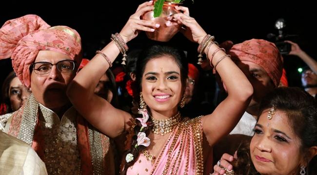 Antalyadaki Hint düğünü 3 gün 3 gece sürdü