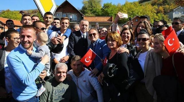 Sırbistandaki Novi Pazar şehrinden Cumhurbaşkanı Erdoğana fahri hemşehrilik