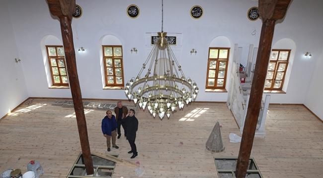 3 bin yıllık antik kentteki tarihi cami restore Edildi
