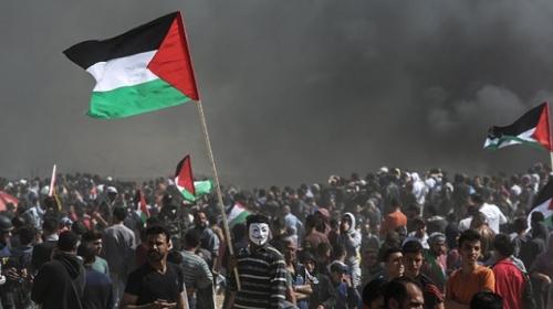 Gazzedeki Büyük Dönüş Yürüyüşünde dördüncü cuma