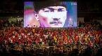 Cumhurbaşkanlığı Senfoni Orkestrası 1500 çocukla konser verdi