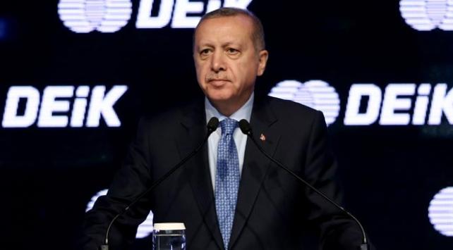 Cumhurbaşkanı Erdoğan: Türkiyeyi 2 trilyon dolar milli gelir düzeyine çıkaracağız