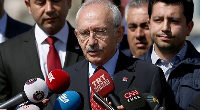 CHP Genel Başkanı Kılıçdaroğlu, Enis Berberoğlu ile görüştü
